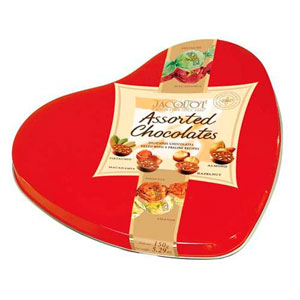 Jacquot Tender Heart Tin