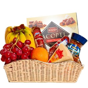 Deluxe Food Basket