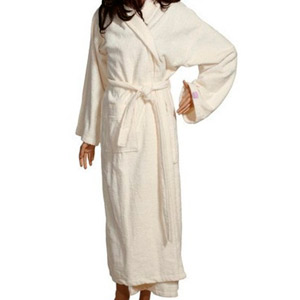 Creem Shawl Bathrobe Dia Noche