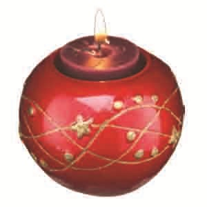 Candle Red Ball