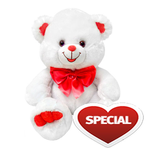 White Red Teddy